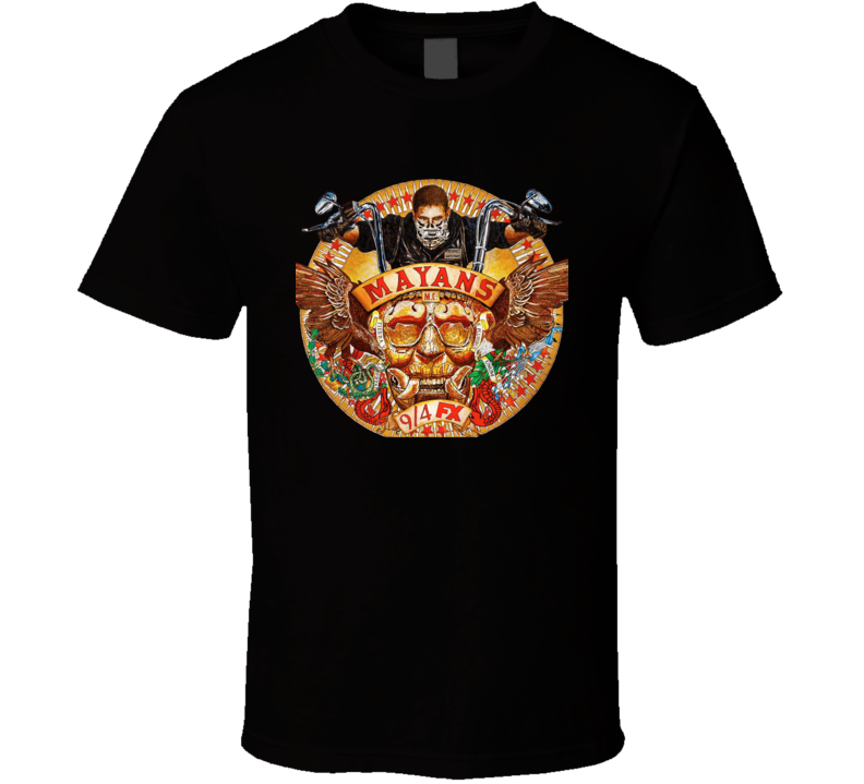 Mayans Promo Sons Of Anarchy Spinoff Jacket T Shirt