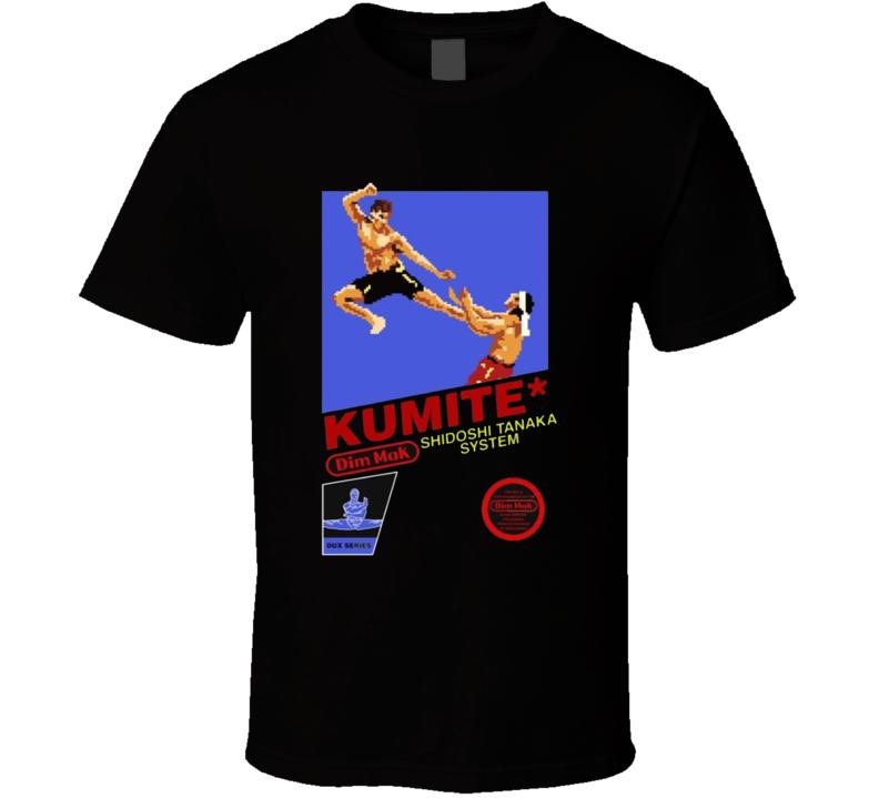 Kumite Dim Mak Video Game T Shirt