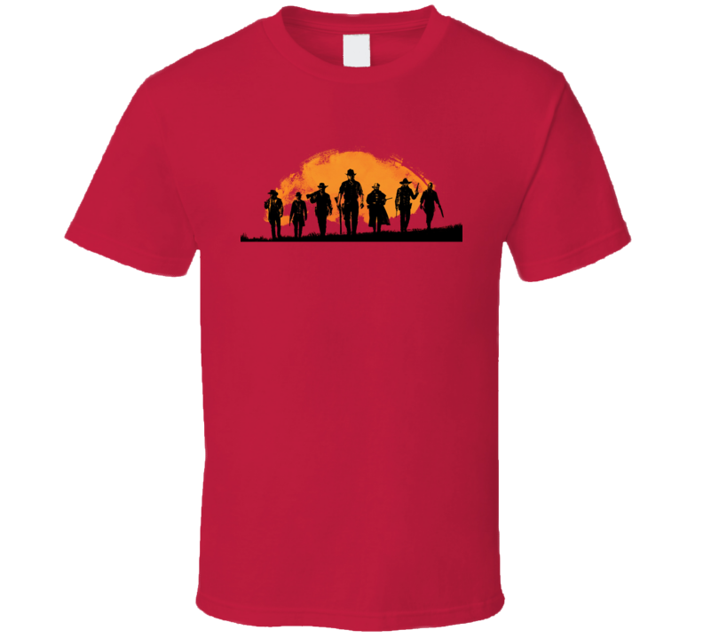 Red Dead Redemption 2 Videogame Fan T Shirt