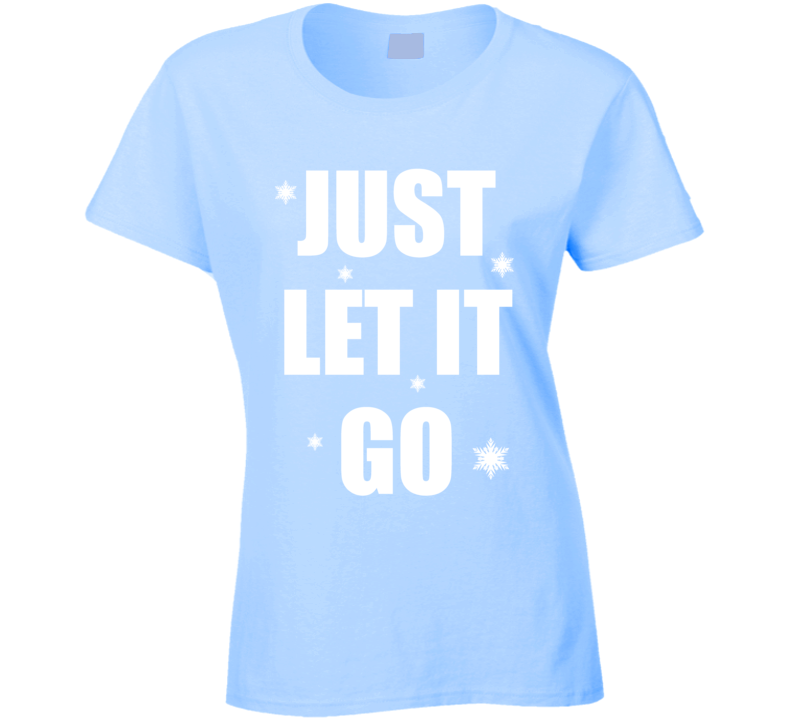Wreck It Ralph Frozen Elsa Just Let It Go Womens T Shirt