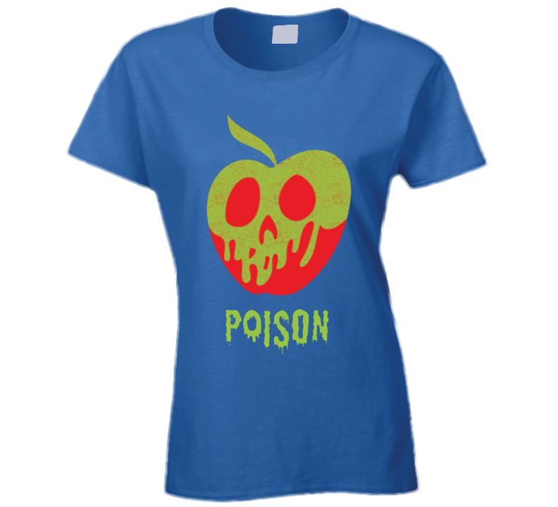 Wreck It Ralph Poison Apple Snow White Womens T Shirt