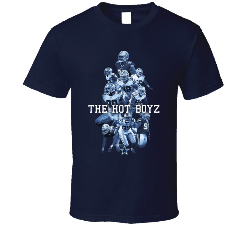 Hot Boyz Dallas Defence Hot Boys Lineman T Shirt