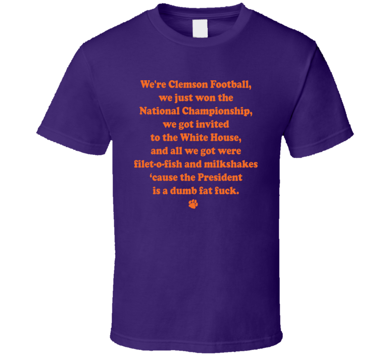 Michael Rapaport Clemson Football Championship T Shirt