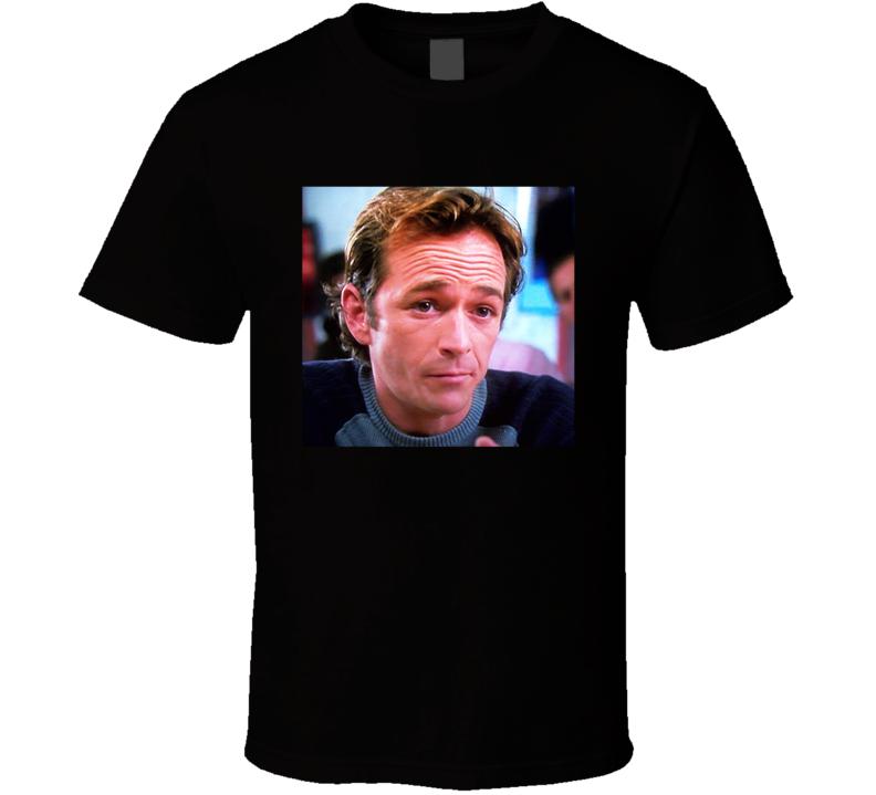 8715476fd Luke Perry As Ben Mckinley Alice Upside Down Movie Scene Fan T Shirt