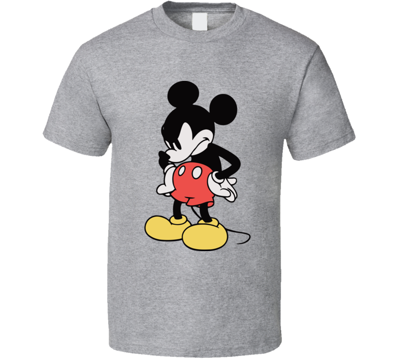 Mickey Mouse Sassy Angry T Shirt
