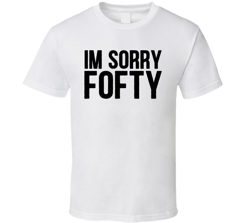 1464ceee97 Rapper Agent I'm Sorry Fofty Funny Music T Shirt