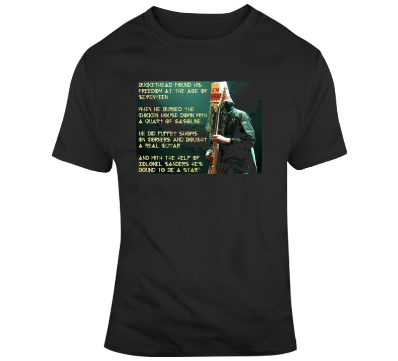 Buckethead Quote Rock Music Guitarist T Shirt