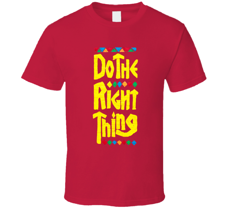 Do The Right Thing Spike Lee T Shirt