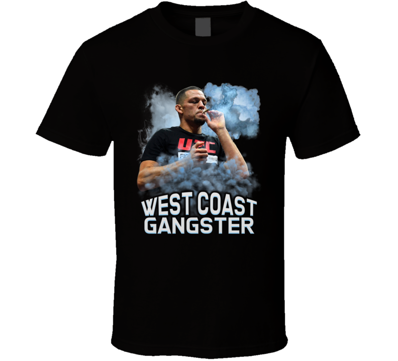 West Coast Gangster Nate Diaz Mma Fighter T Shirt