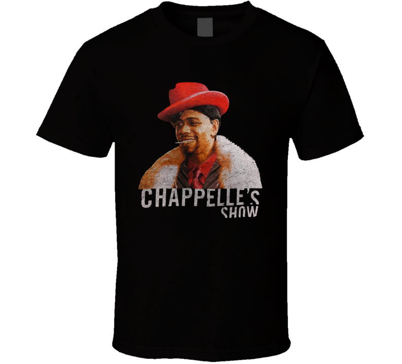Silky Johnson Chappelle's Show Funny Vintage Rare T Shirt