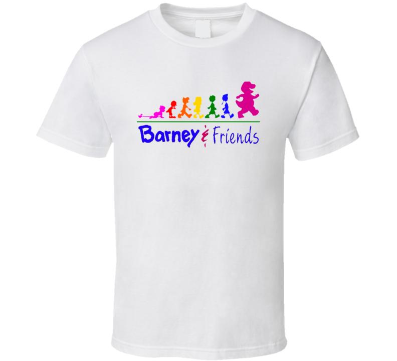 Barney And Friends 90s Tv Show Cartoon T Shirt
