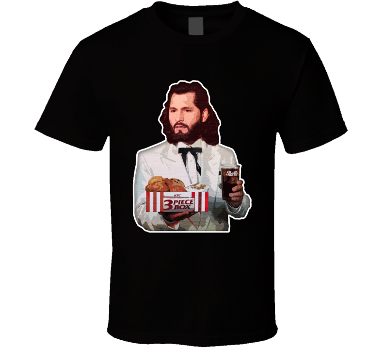 Three Piece And A Soda Colonel Jorge Masvidal Mma Fighter T Shirt