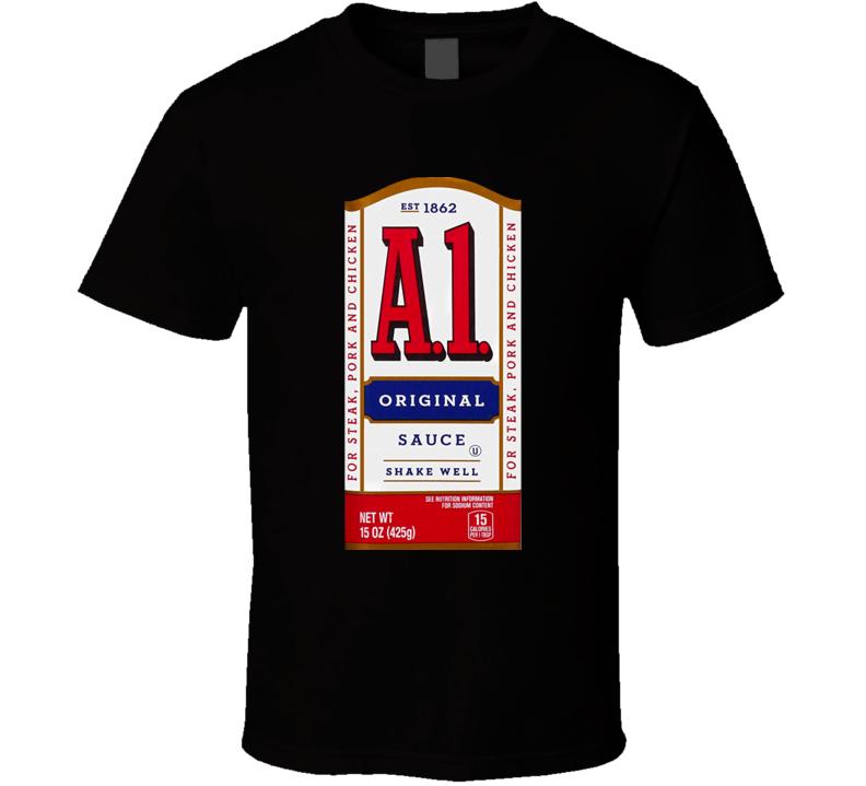 A1 Steak Sauce Halloween Costume T Shirt