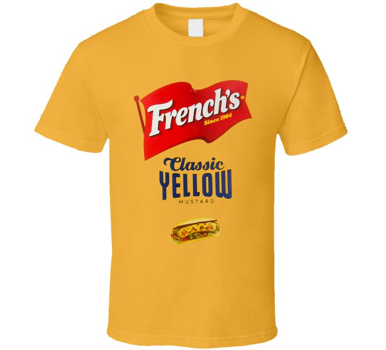 French's Classic Yellow Mustard Halloween Costume T Shirt