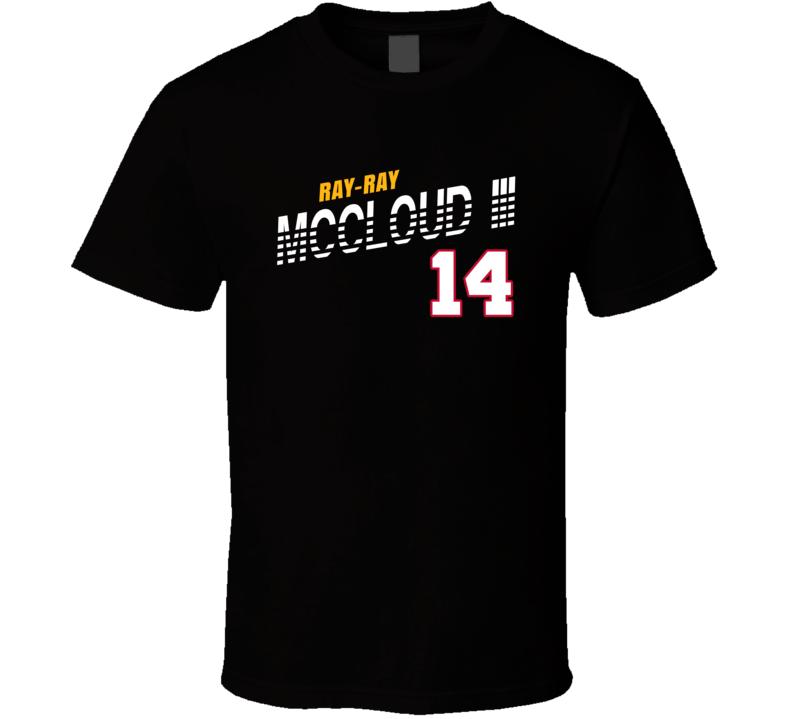 Ray-ray Mccloud Iii 14 Favorite Player Pittsburgh Football Fan T Shirt