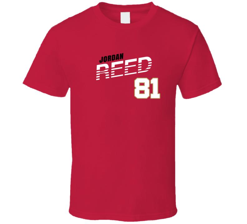 Jordan Reed 81 Favorite Player San Francisco Football Fan T Shirt