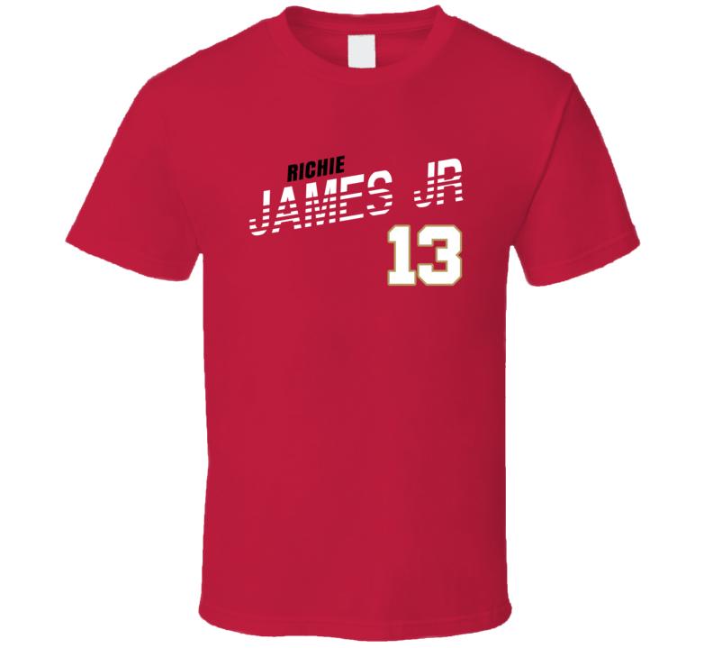 Richie James Jr 13 Favorite Player San Francisco Football Fan T Shirt