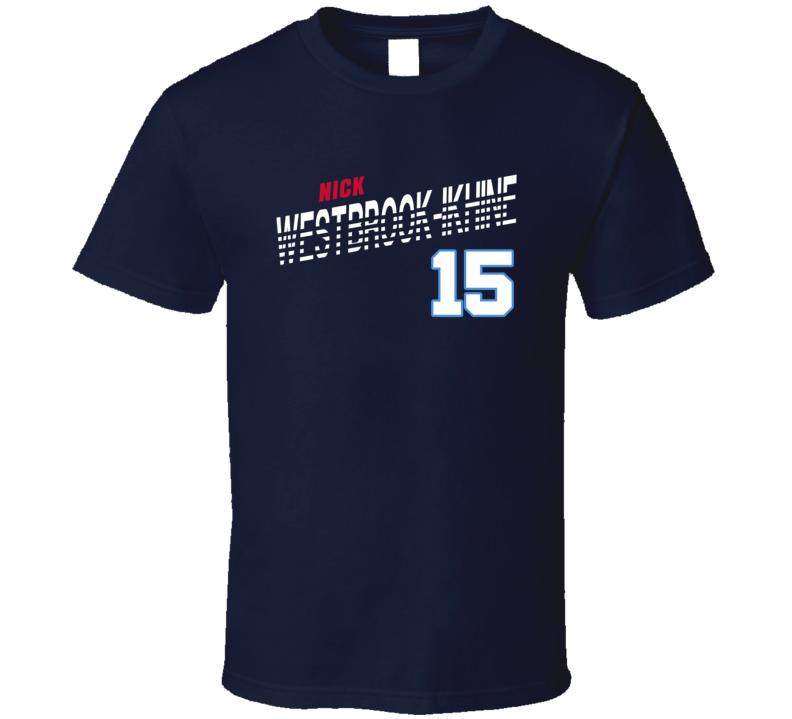 Nick Westbrook-ikhine 15 Favorite Player Tennessee Football Fan T Shirt
