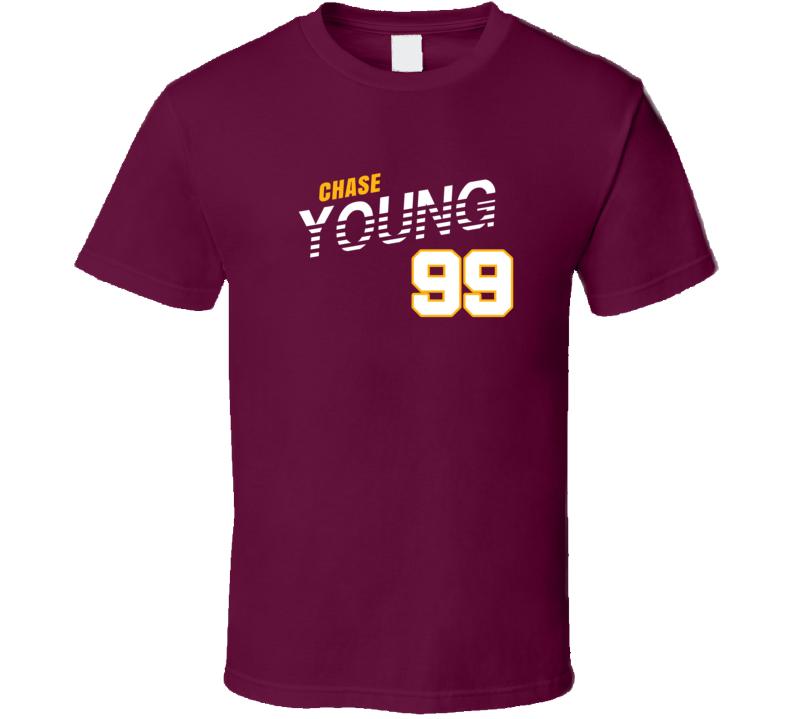 Chase Young 99 Favorite Player Washington Football Fan T Shirt