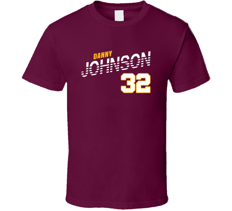 Danny Johnson 32 Favorite Player Washington Football Fan T Shirt