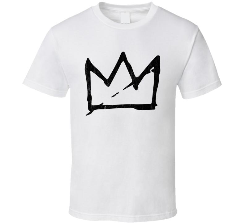 Basquiat Crown Artist Symbol Logo Fan Art Cool T Shirt