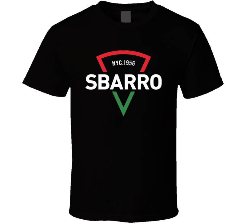 Sbarro Pizza Restaurant Foodie Tour Brand Logo T Shirt