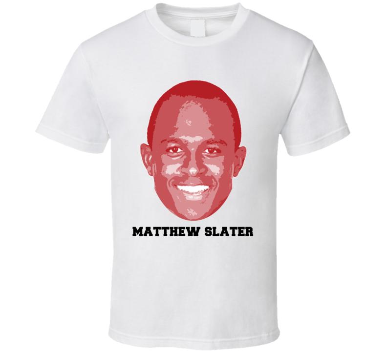 Matthew Slater Face Big Head New England Football Player T Shirt