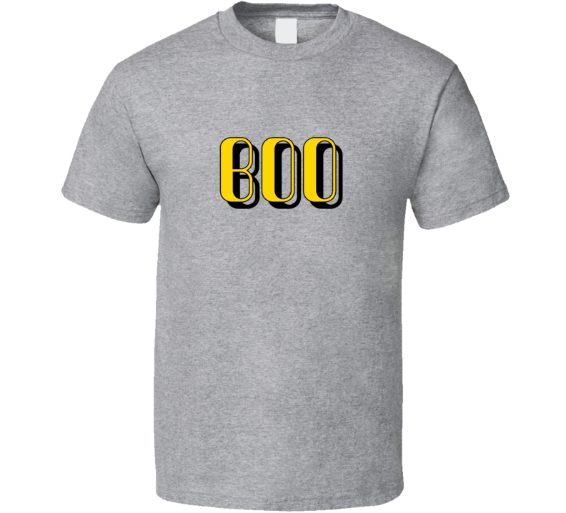 Boo Cool One Word Quote Trending Slang T Shirt