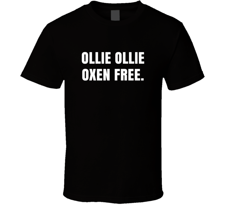 Ollie Ollie Oxen Free Macklemore Ryan Lewis Downtown Lyrics T Shirt