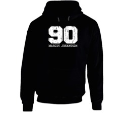 Marcus Johansson No.90 Washington Hockey Fan Worn Look Sports Hoodie