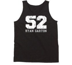 Ryan Garton # 52 St. Petersburg Baseball Fan Worn Look Sports Tanktop
