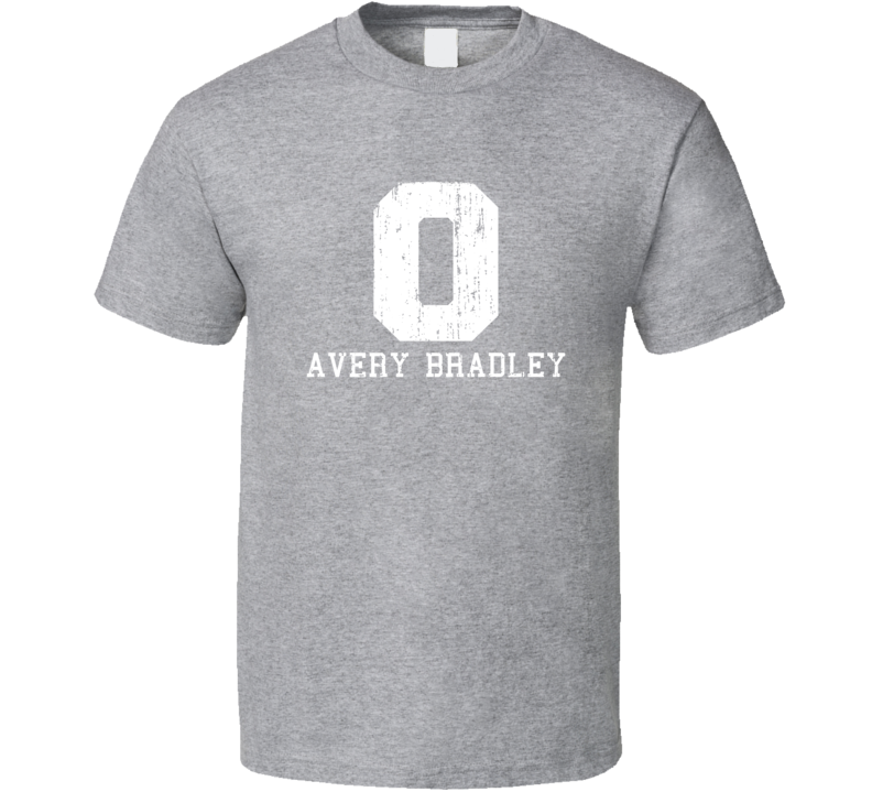 Avery Bradley No.0 Boston Basketball Fan Worn Look Sports T Shirt