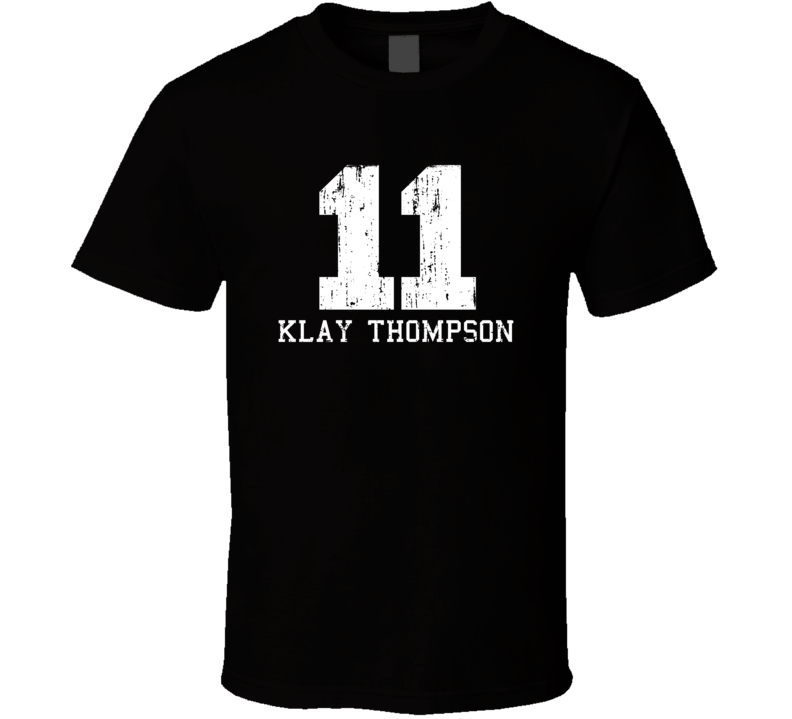 Klay Thompson #11 Golden State Basketball Fan Worn Look Sports T Shirt