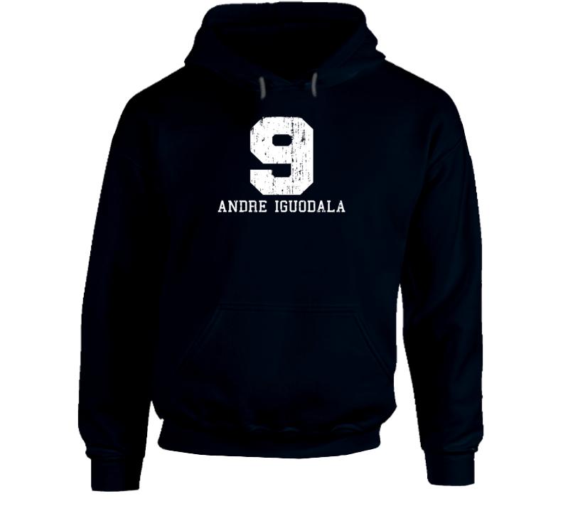 Andre Iguodala #9 Golden State Basketball Fan Worn Look Sports Hoodie