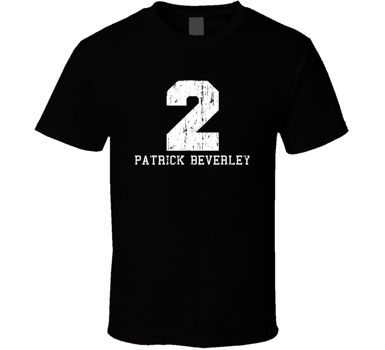 Patrick Beverley No.2 Houston Basketball Fan Worn Look Sports T Shirt