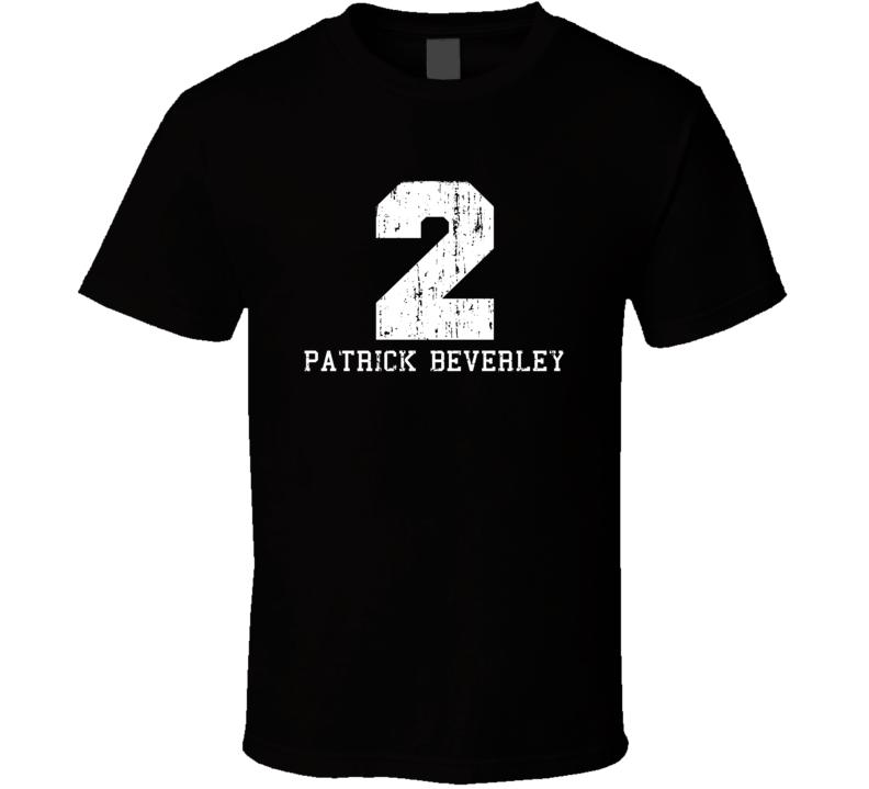 Patrick Beverley No.2 Houston Basketball Fan Worn Look Sports T Shirt