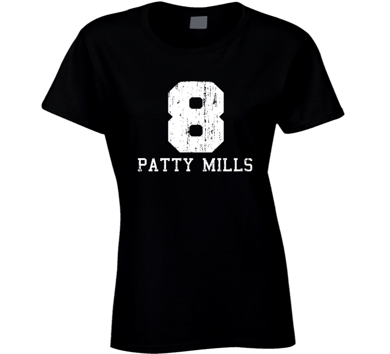 Patty Mills #8 San Antonio Basketball Worn Look Sports Ladies T Shirt