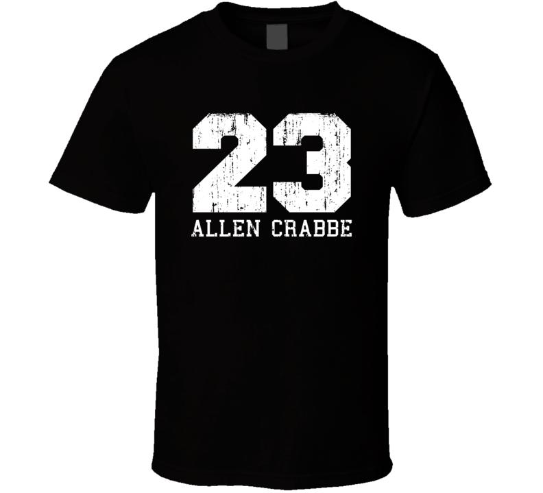 Allen Crabbe No.23 Portland Basketball Fan Worn Look Sports T Shirt