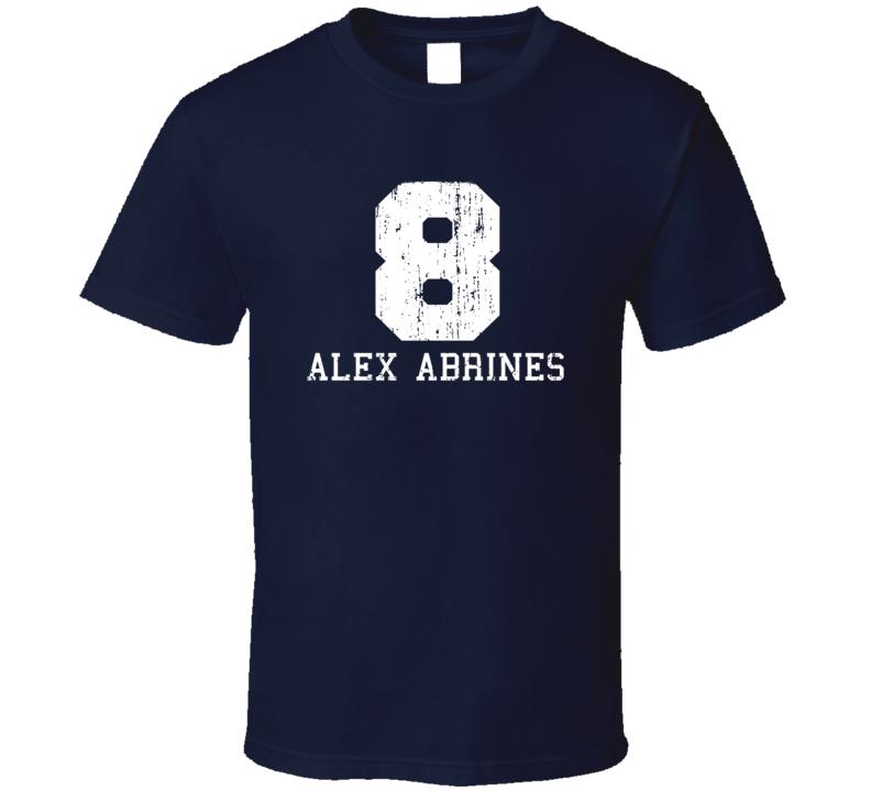 Alex Abrines No.8 Oklahoma Basketball Fan Worn Look Sports T Shirt