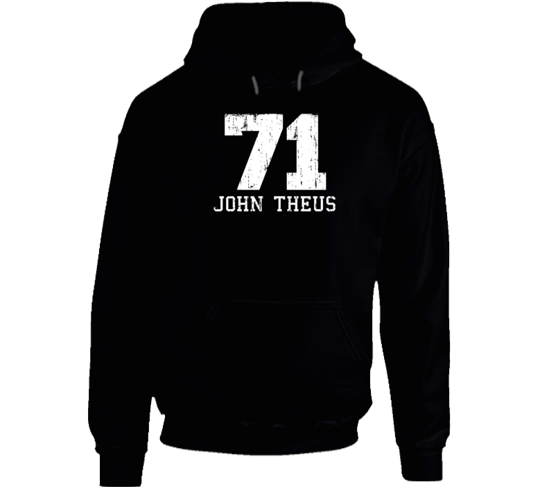 John Theus No.71 San Francisco Football Fan Worn Look Sports Hoodie