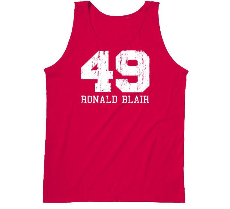 Ronald Blair No.49 San Francisco Football Fan Worn Look Sports Tanktop