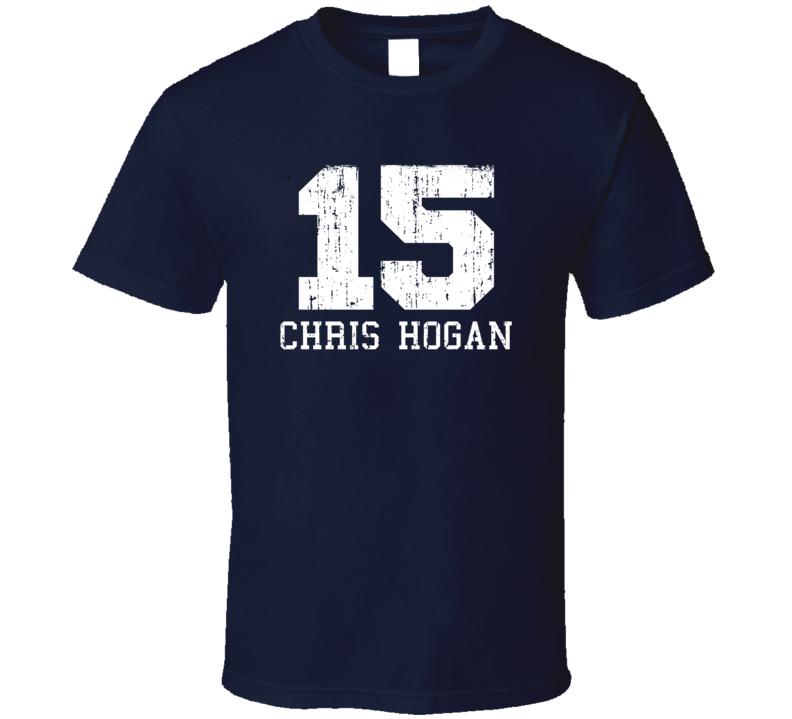 Chris Hogan No.15 Patriots Football Fan Worn Look Sports T Shirt