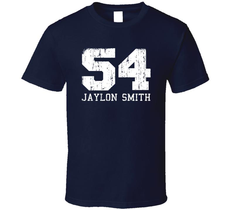 Jaylon Smith No.54 Dallas Football Fan Worn Look Sports T Shirt