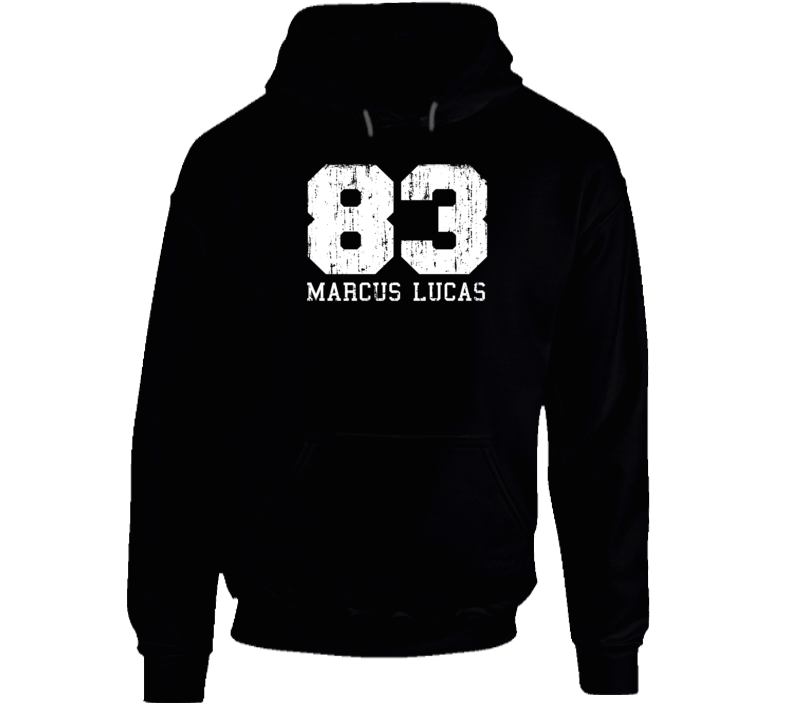 Marcus Lucas No.83 Carolina Football Fan Worn Look Sports Hoodie