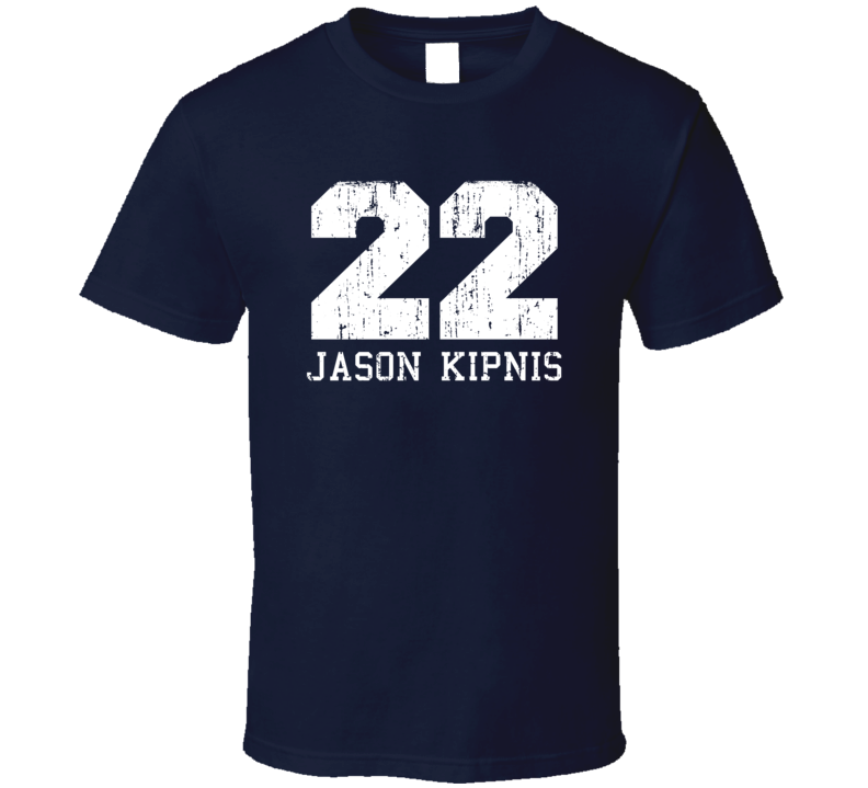 Jason Kipnis No.22 Cleveland Baseball Fan Worn Look Sports T Shirt