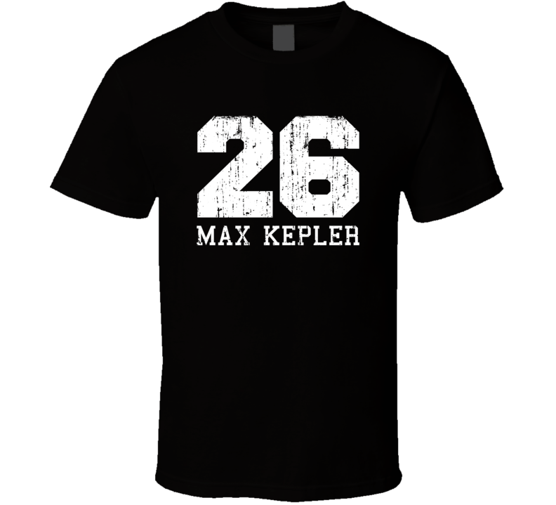 Max Kepler No.26 Minneapolis Baseball Fan Worn Look Sports T Shirt