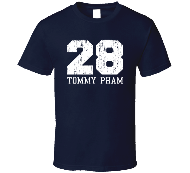 Tommy Pham No.28 St. Louis Baseball Fan Worn Look Sports T Shirt