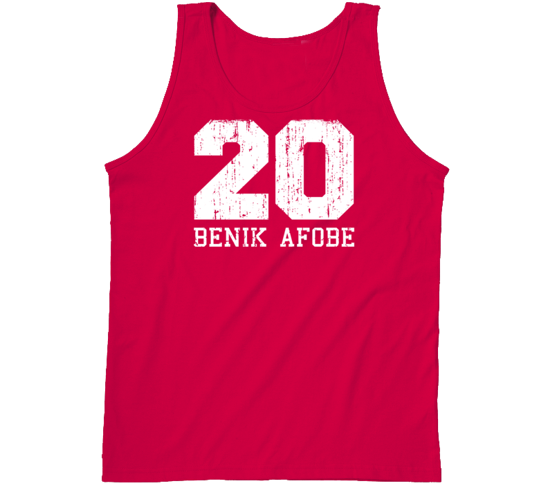 Benik Afobe #20 Bournemouth Football Fan Worn Look Sports Tanktop