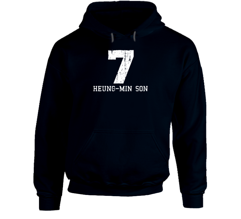 Heung-min Son #7 Tottenham Football Fan Worn Look Sports Hoodie