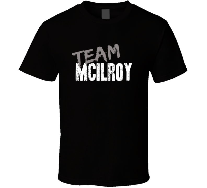 Team Rory McIlroy Golf Fan Worn Look Cool Sports Gift T Shirt
